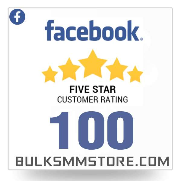 Buy 100 Facebook Reviews