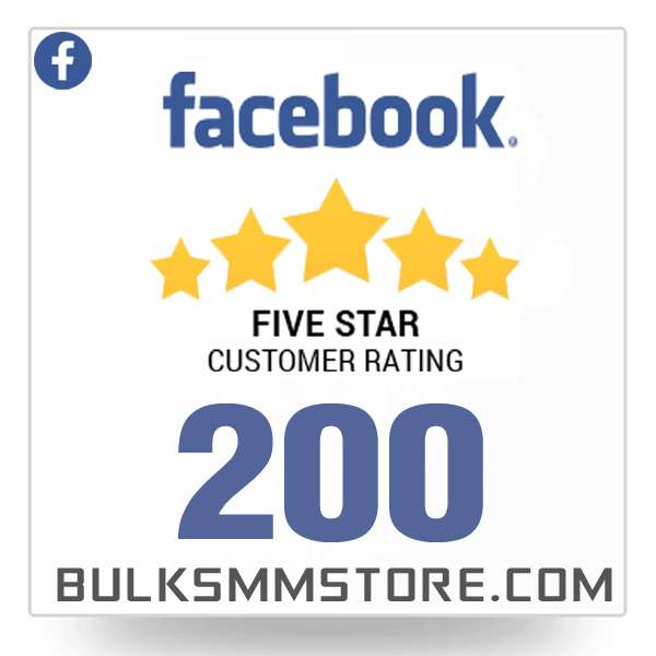 Buy 200 Facebook Reviews