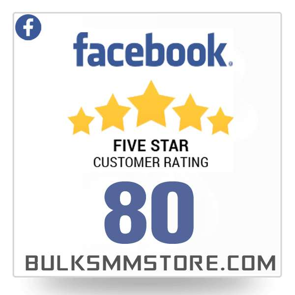 Buy 80 Facebook Reviews