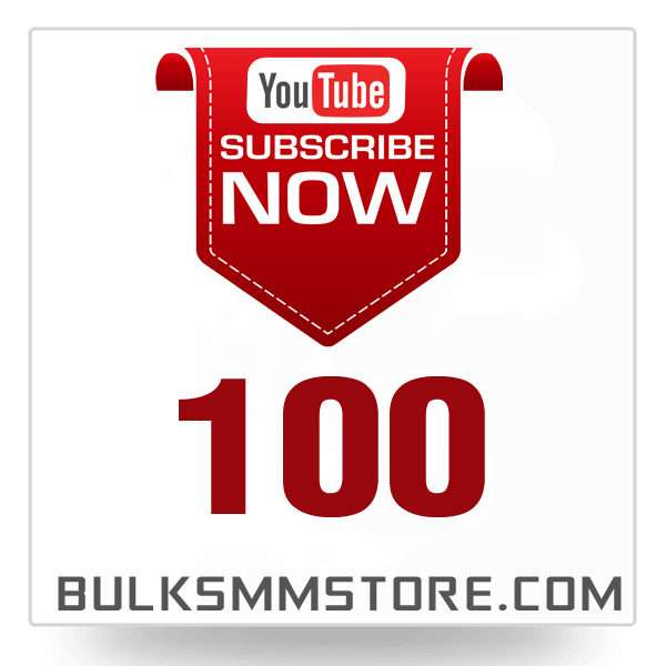 Real 100 Youtube Subscriber