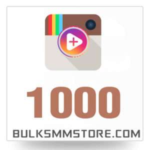 Real 1000 Instagram Video Views