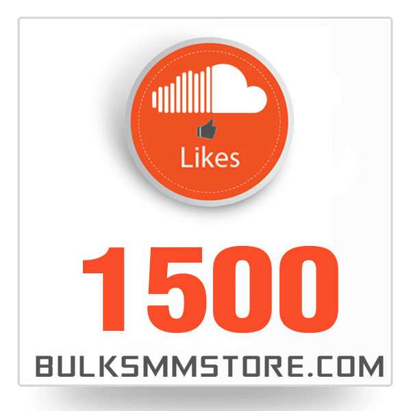 Real 1500 Soundcloud Likes