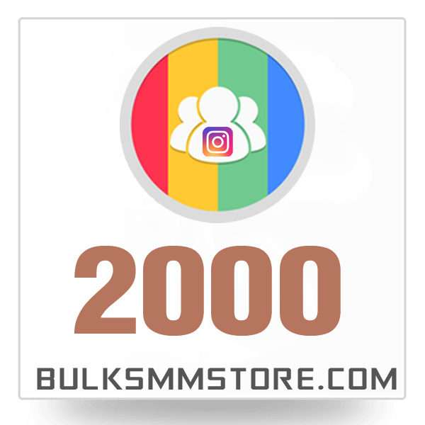 Real 2000 Instagram Followers