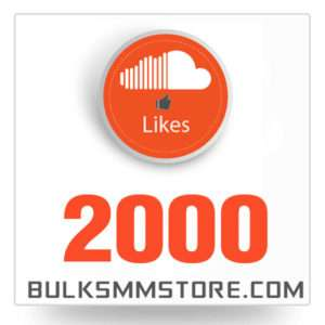 Real 2000 Soundcloud Likes