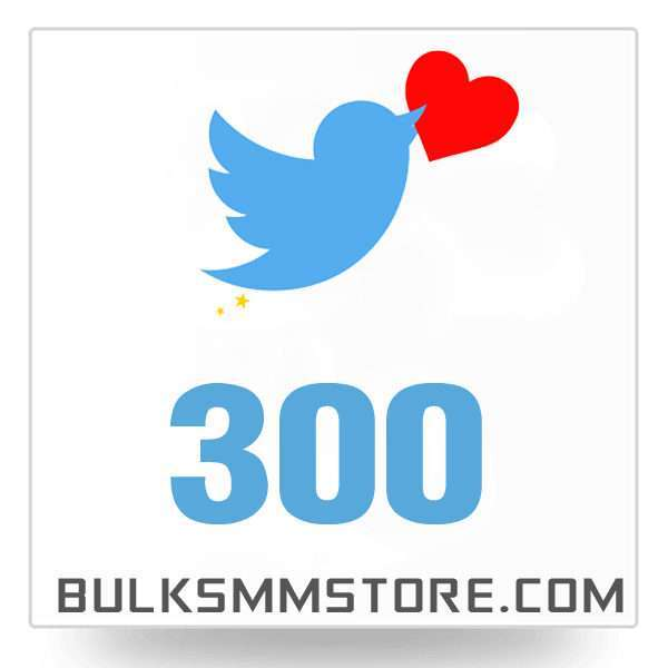 Real 300 Twitter Likes