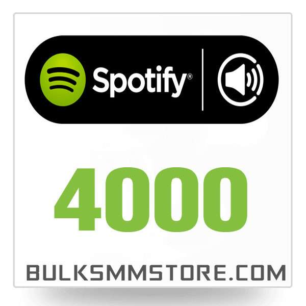 Real 4000 Spotify Play