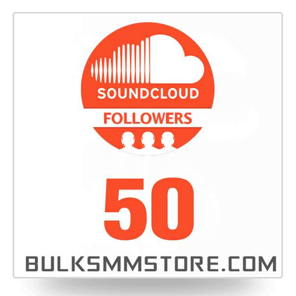 Real 50 Soundcloud Followers
