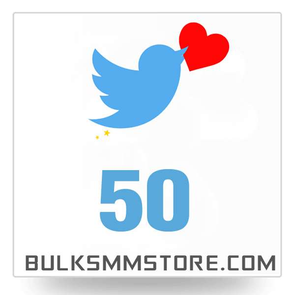 Real 50 Twitter Likes