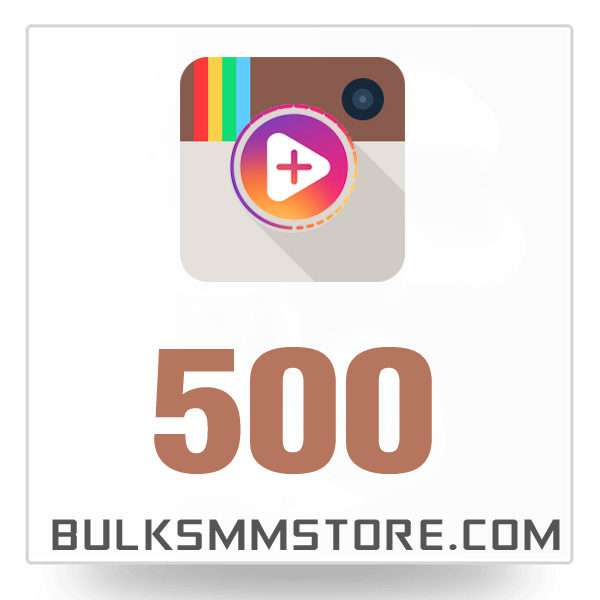 Real 500 Instagram Video Views