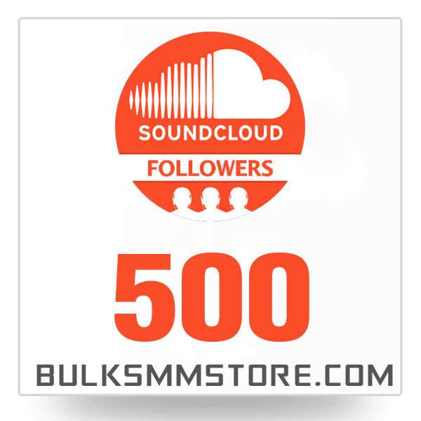 Real 500 Soundcloud Followers