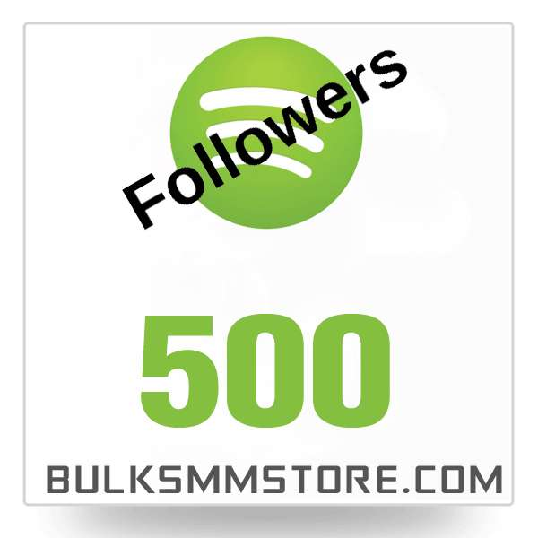 Real 500 Spotify followers