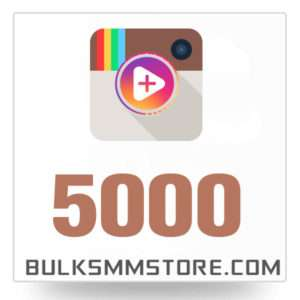 Real 5000 Instagram Video Views