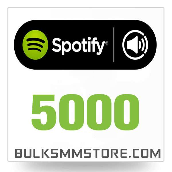 Real 5000 Spotify Play