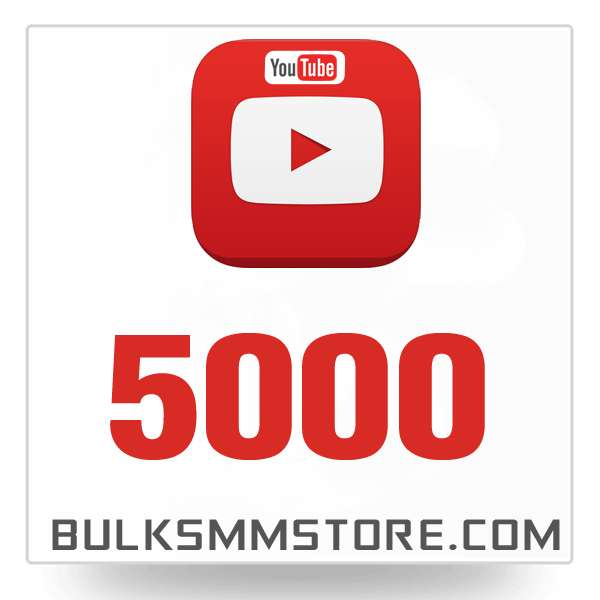Real 5000 Youtube Views