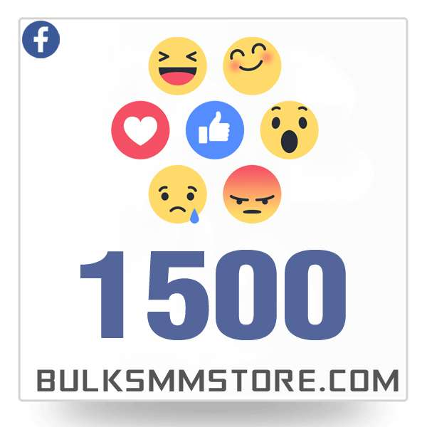 Real 1500 Facebook Post Likes