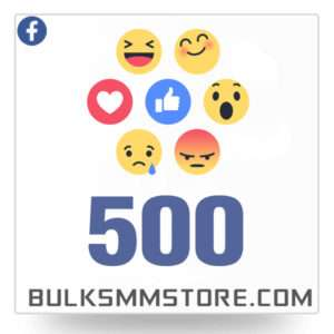 Real 500 Facebook Post Likes